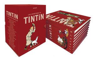 TINTÍN BOX. LA COLECCIÓN COMPLETA (8 VOLS.)