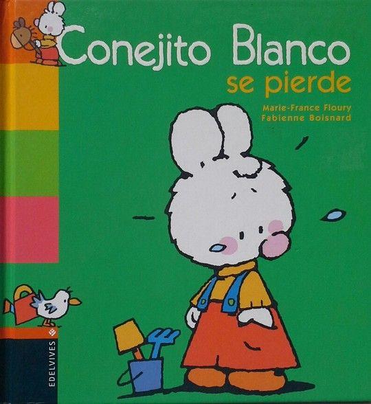 CONEJITO BLANCO SE PIERDE