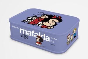 LAS TIRAS DE MAFALDA (CAJA METALICA + 11 TOMOS)