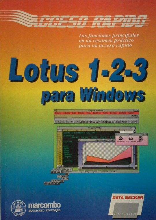 LOTUS 1-2-3 PARA WINDOWS