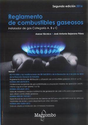 REGLAMENTO DE COMBUSTIBLES GASEOSOS (ACTUALIZACIÓN 2016)