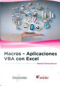 MACROS - APLICACIONES VBA CON EXCEL