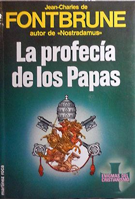 PROFECÍA DE LOS PAPAS, LA