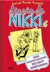 DIARIO DE NIKKI 6: UNA ROMPECORAZONES NO MUY AFORTUNADA