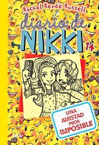 DIARIO DE NIKKI 14: UNA AMISTAD PEOR IMPOSIBLE