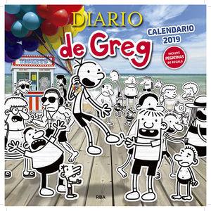 CALENDARIO DIARIO DE GREG 2019