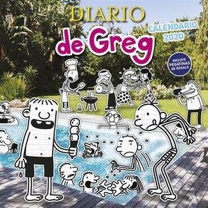 CALENDARIO DIARIO DE GREG 2020