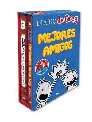 ESTUCHE MEJORES AMIGOS GREG / ROWLEY