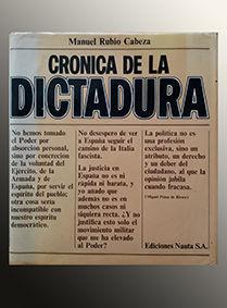 CRÓNICA DE LA DICTADURA