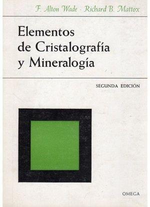 ELEMENT.DE CRISTALOGRAFIA Y MINERALOGIA