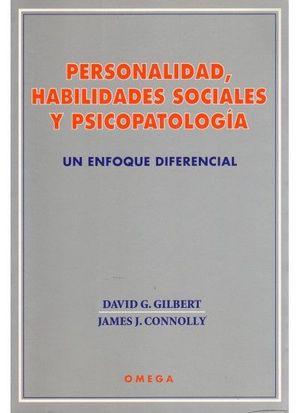 PERSONALIDAD,HAB.SOCIAL.Y PSICOPATOLOGIA