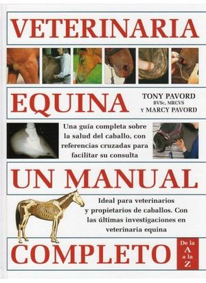 VETERINARIA EQUINA. UN MANUAL COMPLETO