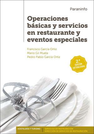 OPERACIONES BÁSICAS Y SERVICIOS RESTAURANTE Y EVENTOS