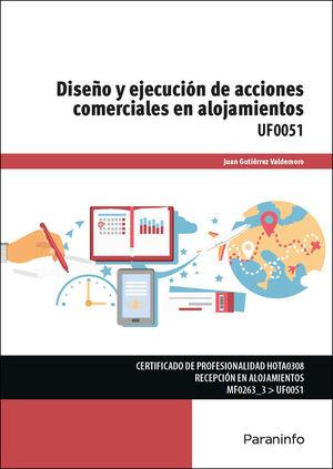 DISEÑO Y EJECUCIÓN ACCIONES COMERCIALES ALOJAMIENTOS
