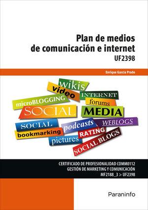 PLAN DE MEDIOS COMUNICACIÓN E INTERNET