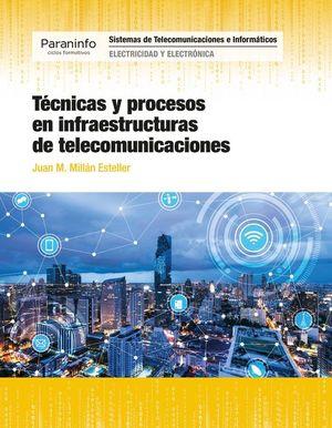 TECNICAS Y PROCESOS EN INFRAESTRUCTURAS DE TELECOMUNICACIONES