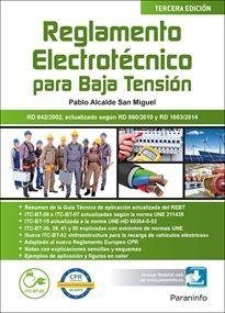 REGLAMENTO ELECTROTECNICO PARA BAJA TENSION