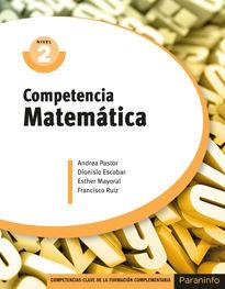 COMPETENCIA CLAVE: COMPETENCIA MATEMÁTICA NIVEL 2