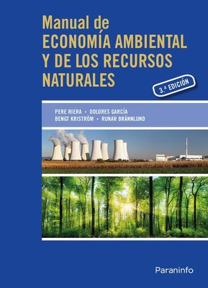 MANUAL ECONOMÍA AMBIENTAL Y RECURSOS NATURALES