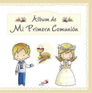 ÁLBUM DE MI PRIMERA COMUNIÓN