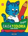 SUPER CALCA Y COLOREA CON MIAU