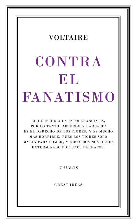 CONTRA EL FANATISMO
