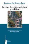 ESCRITOS DE CRÍTICA RELIGIOSA Y POLÍTICA