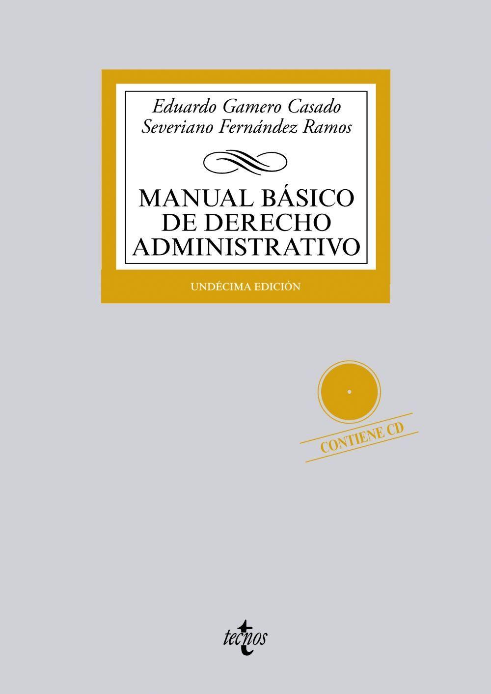 MANUAL BÁSICO DE DERECHO ADMINISTRATIVO