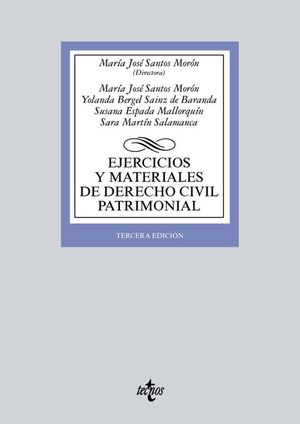 EJERCICIOS Y MATERIALES DE DERECHO CIVIL PATRIMONIAL