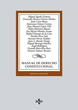 MANUAL DE DERECHO CONSTITUCIONAL