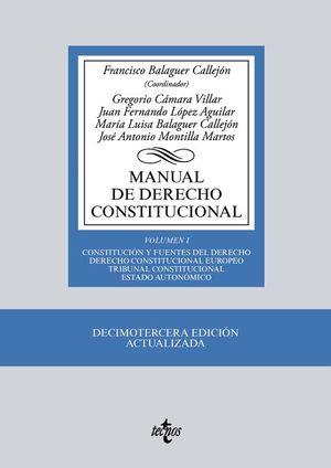 MANUAL DE DERECHO CONSTITUCIONAL.(VOL.I)