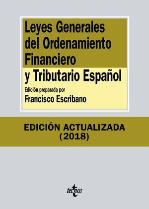 LEYES GENERALES DEL ORDENAMIENTO FINANCIERO Y TRIBUTARIO ESPAÑOL