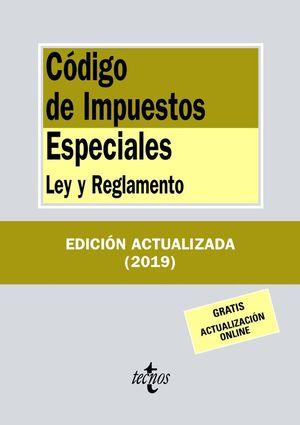 CÓDIGO DE IMPUESTOS ESPECIALES