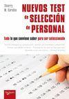 NUEVOS TEST DE SELECCION DE PERSONAL