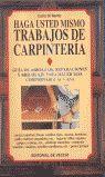 HAGA USTED MISMO TRABAJOS DE CARPINTERÍA