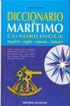 DICCIONARIO MARÍTIMO CUADRILINGÜE