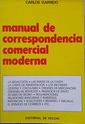 MANUAL DE CORRESPONDENCIA COMERCIAL MODERNA
