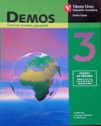 DEMOS 3 CIENCIAS SOCIALES, GEOGRAFIA