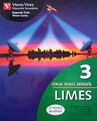 LIMES 3, CIENCIAS SOCIALES, GEOGRAFÍA E HISTORIA, 3 ESO