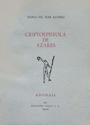 CRIPTOEPÍSTOLA DE AZARES