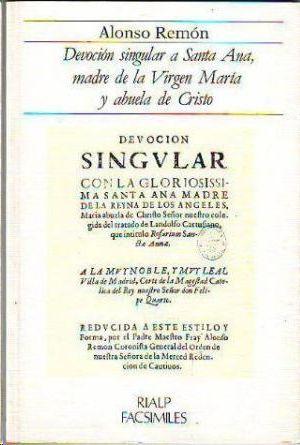 DEVOCION SINGULAR A SANTA ANA,MADRE DE VIRGEN MARIA Y