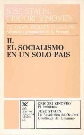 EL SOCIALISMO EN UN SOLO PAÍS