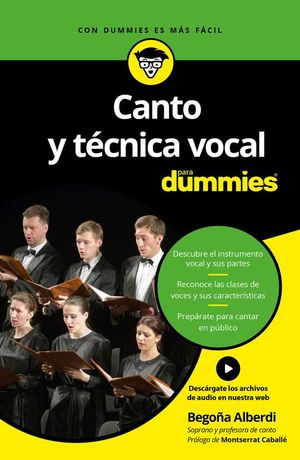 CANTO Y TECNICA VOCAL PARA DUMMIES