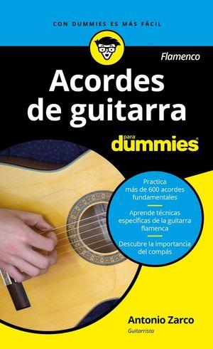 ACORDES DE GUITARRA PARA DUMMIES. FLAMENCO