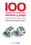 100 ENIGMAS DE PROBABILIDAD,DECISION Y JUEGO