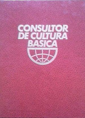 CONSULTOR DE CULTURA BÁSICA - ÁREA DE LENGUAJE