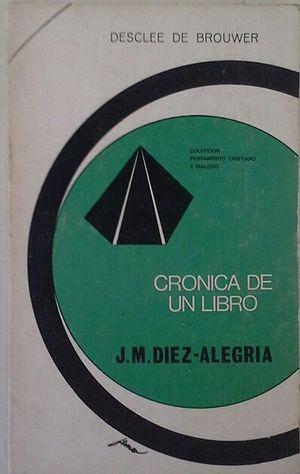 CRÓNICA DE UN LIBRO