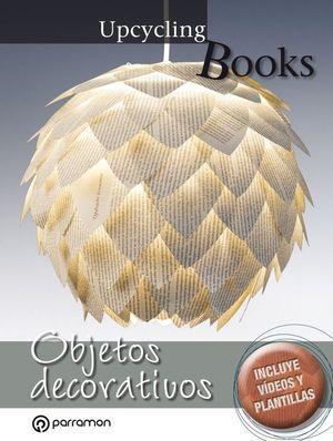 OBJETOS DECORATIVOS. UPCYCLING BOOKS