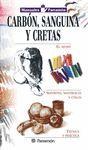 MANUALES PARRAMON TECNICAS CARBON,SANGUINA Y CRETAS