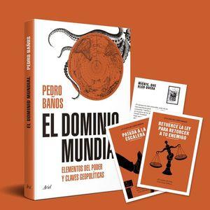 PACK EL DOMINIO MUNDIAL (+ 10 POSTALES ESTRATEGIAS PARA DOMINAR EL MUNDO)
